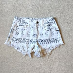 American Eagle Outfitters high waisted shorts Sz 0